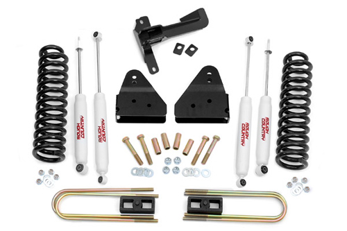 "Fat Bob's Garage, Rough Country Part #486, Ford F250/350 SuperDuty 3"" Suspension Lift 4WD 2005-2010"