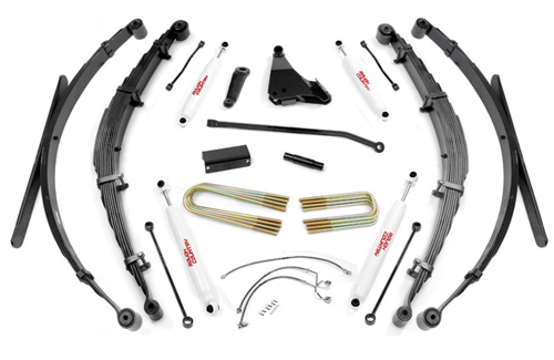 "Fat Bob's Garage, Rough Country Part #488.2, Ford F250/F350 SuperDuty 8"" Lift Kit 4WD 1999-2004"