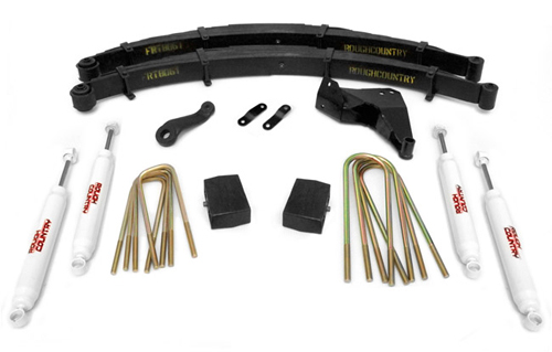 "Fat Bob's Garage, Rough Country Part #494.2, Ford F250/350 Super Duty 4"" Lift Kit 4WD 1999"