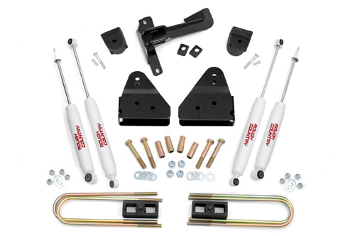 "Fat Bob's Garage, Rough Country Part #590S, Ford F250/350 Super Duty 3"" Suspension Lift 4WD 2005-2015"