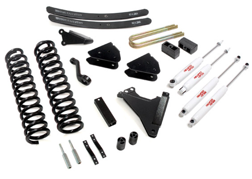 "Fat Bob's Garage, Rough Country Part #593.2, Ford F250/F350 SuperDuty 6"" Radius Drop Lift 4WD 2005-2007"