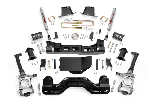 "Fat Bob's Garage, Rough Country Part #599S, Ford F150 4"" Suspension Lift Kit 4WD 2009-2010"