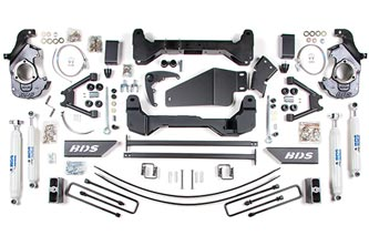 "Fat Bob's Garage, BDS Part #193h, Chevrolet/GMC Silverado/Sierra  6"" Suspension System 4WD 1988-1998_MAIN"