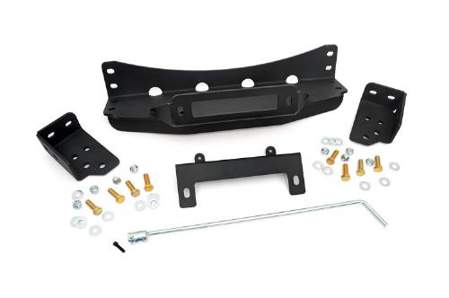 Fat Bob's Garage, Rough Country Part #1080, Chevrolet/GMC 1500 Pickup Hidden Winch Mounting Plate 2007-2013 LARGE