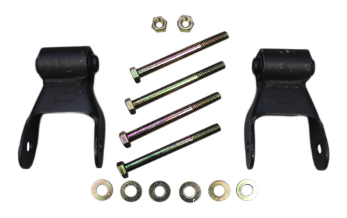 Fat Bob's Garage, Part # 330-148AX2, Chevrolet 1500/2500/3500 Rear Leaf Spring Replacement Shackle Kit 4WD 1968-1997 MAIN