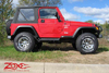"Jeep TJ Wrangler 4"" Suspension Lift 2003-2006 SWATCH"