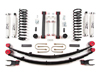 "Fat Bob's Garage, Zone Offroad Part #J21, Jeep Cherokee XJ 4.5"" Lift Kit w/ Rear Leaf Springs 1984-2001"