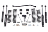 "Fat Bob's Garage, Zone Offroad Part #J14, Jeep JK Wrangler 4"" Suspension System 2007-2016 (2 Door) THUMBNAIL"