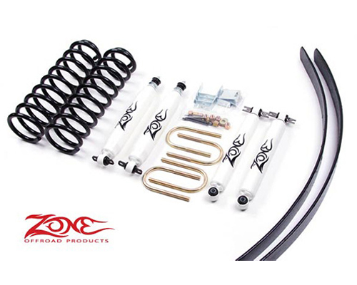 "Fat Bob's Garage, Zone Offroad Part #J6, Jeep Cherokee XJ 3"" Lift Kit 1984-2001 MAIN"