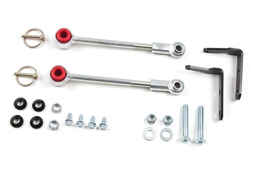 "Fat Bob's Garage, Zone Offroad Part #J5321, Jeep YJ Wrangler Sway Bar Disconnect 3-4.5"" Lift 1987-1995 MAIN"