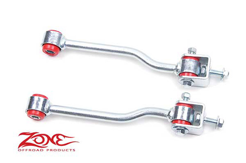 "Fat Bob's Garage, Zone Offroad Part #J5303, Jeep TJ Wrangler Front Sway Bar Links for 3-4"" Lift 1997-2006"
