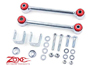 "Fat Bob's Garage, Zone Offroad Part #J5452, Jeep Cherokee XJ Front Solid Sway Bar Links 4.5"" Lift 1984-2001"