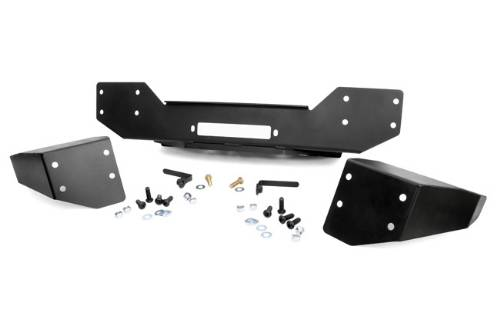 Fat Bob's Garage, Rough Country Part #1059, Jeep JK Wrangler Hybrid Stubby Bumper 2007-2013 LARGE