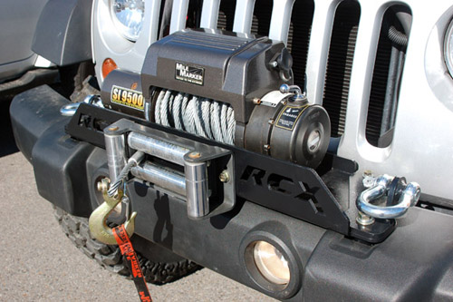 Fat Bob's Garage, Rough Country Part #1173, Jeep Wrangler JK Winch Mounting System 2007-2013