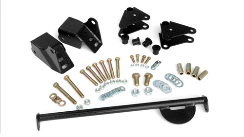 Fat Bob's Garage, Rough Country Part #5060, Jeep CJ Shackle Reversal Kit 1976-1986_MAIN