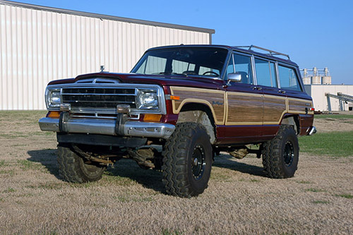 ... Jeep Grand Wagoneer / Cherokee 3 View Enlarged Image