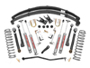 "Fat Bob's Garage, Rough Country Part #696N2, Jeep Cherokee XJ 6.5"" Suspension Lift Kit 1984-2001"