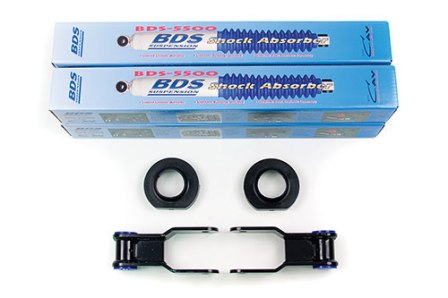 "Fat Bob's Garage, BDS Part #484H, Jeep MJ Comanche 3/4"" Suspension Lift Kit 1986-1991 MAIN"