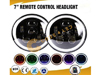 7″ Round Jeep Headlight with RGB Bluetooth Technology Specification THUMBNAIL