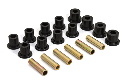 Fat Bob's Garage, Daystar Part #JK020008BK, Jeep XJ Cherokee Rear Spring & Shackle Bushings 1984-2001_MAIN