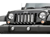 "Jeep Wrangler 8"" Vertical LED Grille Kit 07-17 THUMBNAIL"