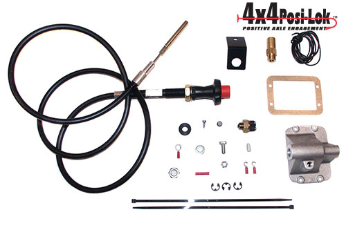 Fat Bob's Garage, Zone Offroad Part #PSL900, Jeep Axle Disconnect 1984-1995 MAIN