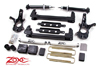 "Fat Bob's Garage, Zone Offroad Part #C9, Chevrolet/GMC 1500 4.5"" 2WD IFS Suspension System 2007-2013"