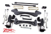 "Fat Bob's Garage, Zone Offroad Part #C5, Chevrolet/GMC 2500HD 2WD 6"" IFS Suspension System 2001-2010"