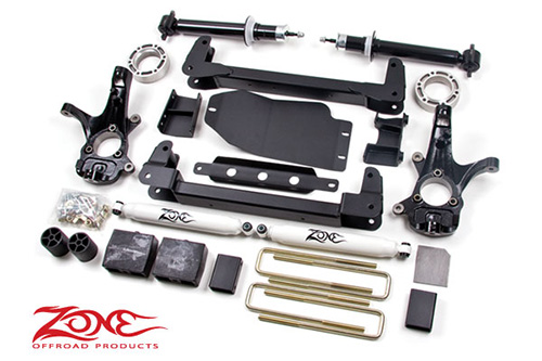 "Fat Bob's Garage, Zone Offroad Part #C8, Chevrolet/GMC 1500 4.5"" 4WD IFS Suspension System 2007-2013"
