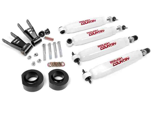 "Fat Bob's Garage, Rough Country Part #680.2, Jeep Cherokee 1.5"" Suspension Lift 1984-2001 MAIN"
