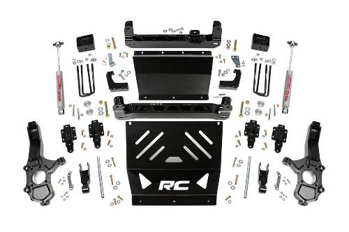"Fat Bob's Garage, Rough Country part #233.20, Chevrolet/GMC Colorado/Canyon 5"" Suspension Lift Kit 4WD 2015-2016 LARGE"