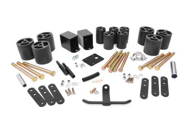 "Fat Bob's Garage, Rough Country Part #611, Jeep YJ Wrangler 3"" Body Lift Kit 1987-1995 LARGE"