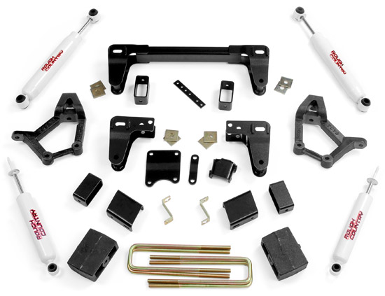"Fat Bob's Garage, Rough Country Part #734.20, Toyota 4WD Pickup IFS 1986-1995 4""-5"" Lift Kit THUMBNAIL"