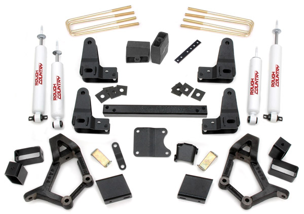 "Fat Bob's Garage, Rough Country Part #733S, Toyota 4-Runner/Pickup 4-5"" Suspension Lift Kit 1986-1995 4WD LARGE"