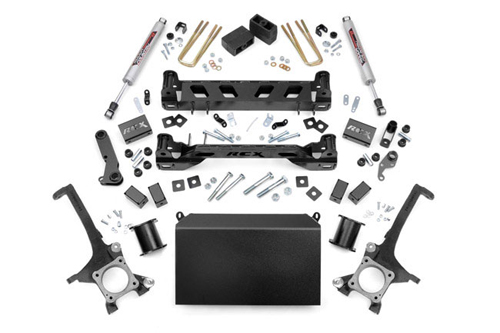 "Fat Bob's Garage, Rough Country Part #75320, Toyota Tundra 4.5"" Suspension Lift 4WD 2007-2015"