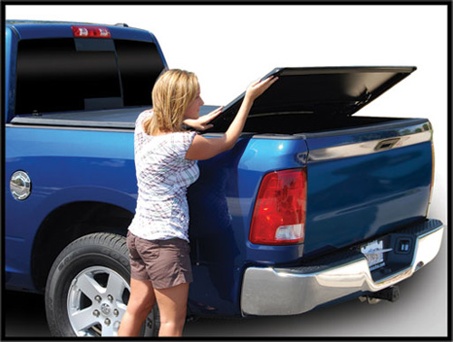 Fat Bob's Garage, Tonno Pro Part #42-503, Toyota Tundra w/out Utility Track 5.5' Trifold Tonneau Cover 2007-2013 MAIN