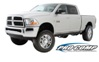 "Dodge Ram 2500/3500 6"" Gas w/Front Coil Springs 2010-2013 SWATCH"