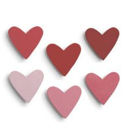 Heart Ombre Magnet Set