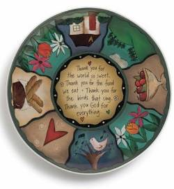 Sweet Table Prayer Round Platter THUMBNAIL