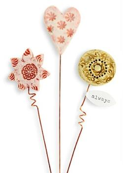 decorative plant flower stakes THUMBNAIL