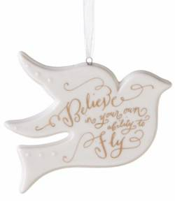 Dove Ornament THUMBNAIL