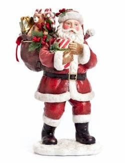 Sack Full of Toys Santa Figure