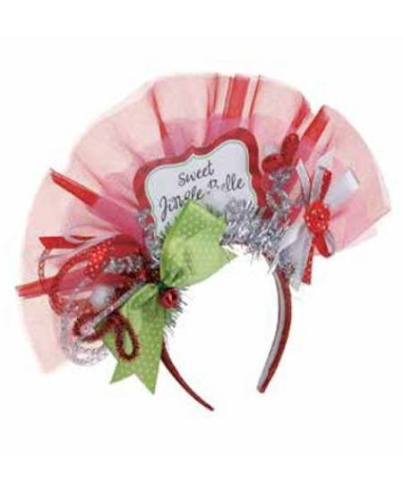Sweet Jingle Belle Headband MAIN