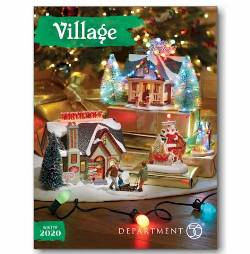 2020 Department 56 Village Catalog THUMBNAIL