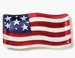 Patriotic Flag Platter