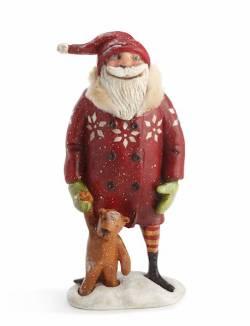 Santa with Teddy Bear