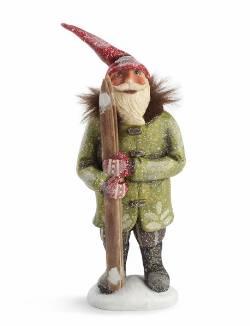 Santa with Skiis