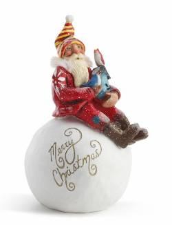 Santa on Snowball