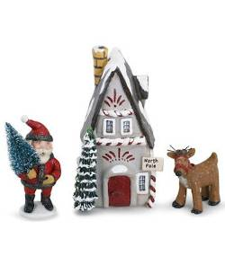 North Pole Figures