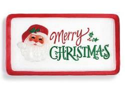 Merry Christmas Santa Platter